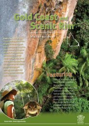 Gold Coast and Scenic Rim visitor guide - Department of National ...
