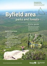 Byfield area parks and forests visitor guide - Department of National ...