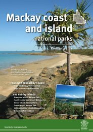 Mackay coast and island - Department of National Parks, Recreation ...