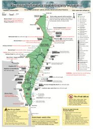 Fraser Island conditions report - Queensland Government