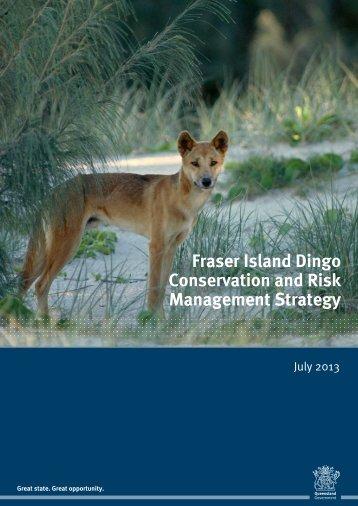 Fraser Island Dingo Conservation and Risk Management Strategy