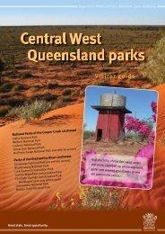 Central West Queensland parks Visitor guide - Department of ...