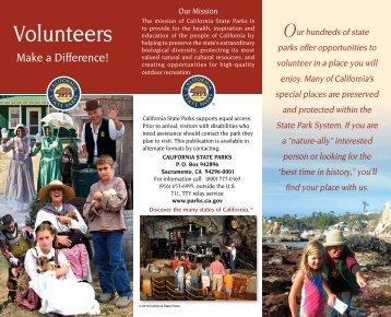 Volunteers - California State Parks
