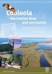 Cooloola Recreation Area visitor guide - Department of National ...