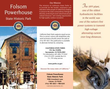Folsom Powerhouse - California State Parks