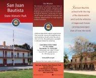 San Juan Bautista - California State Parks
