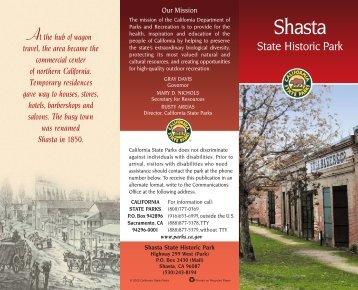 Shasta brochure - California State Parks