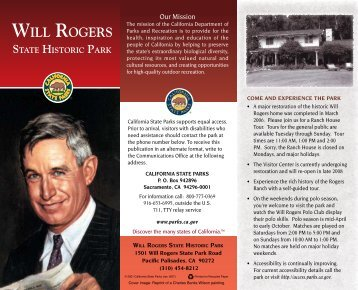 Welcome to Will Rogers State Historic Park - California State Parks ...