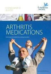 Consumer's Guide to Arthritis Medications