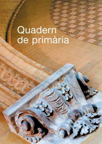 Quadern de primària - Parlament de Catalunya