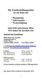 Kursprogramm (PDF-Datei, ca. 1.700 KB) - DRK  Kreisverband ...