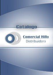 CATÁLOGO COMERCIAL HILLO