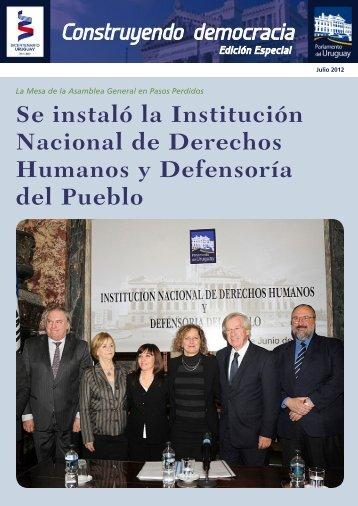 Edición Especial. Jul/2012 - Poder Legislativo