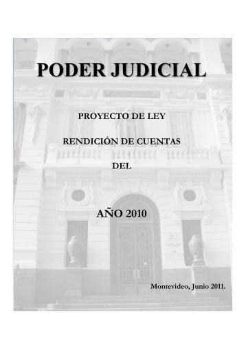 PODER JUDICIAL - Poder Legislativo