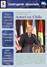 Astori en Chile - Poder Legislativo