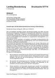 Landtag Brandenburg Drucksache 5/7714