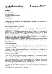 Landtag Brandenburg Drucksache 5/2477