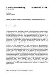 Landtag Brandenburg Drucksache 5/3186