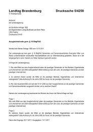 Landtag Brandenburg Drucksache 5/4258