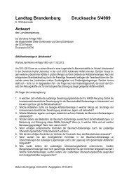 Landtag Brandenburg Drucksache 5/4989 - Brandenburg.de
