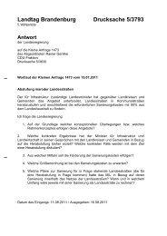 Landtag Brandenburg Drucksache 5/3793