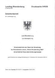 Landtag Brandenburg Drucksache 5/4555