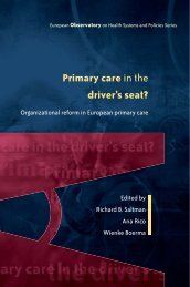 Primary care in the driver's seat? - World Health Organization ...