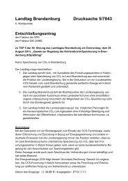 Landtag Brandenburg Drucksache 5/7843