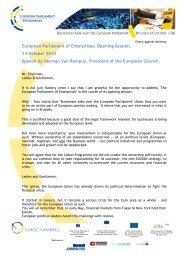 Herman Van Rompuy Speech _website - European Parliament of ...