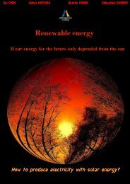 How to produce electricity with solar energy