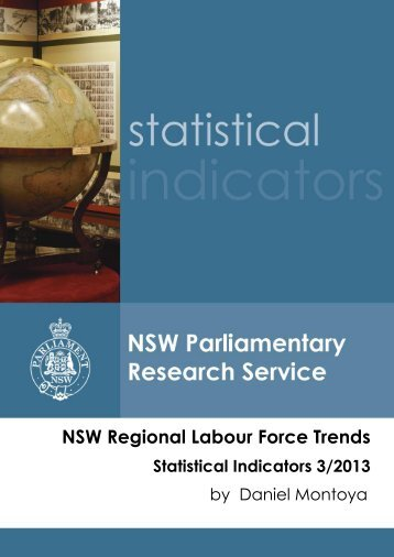 NSW Regional Labour Force Trends - Parliament of NSW