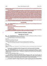 HEAVY VEHICLE NATIONAL LAW BILL - Queensland Parliament