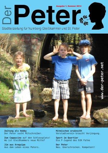Der Peter - Ausgabe 1 - Sommer 2014