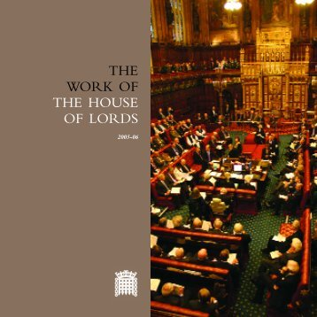 work of the house 0506 - for web - Parliament