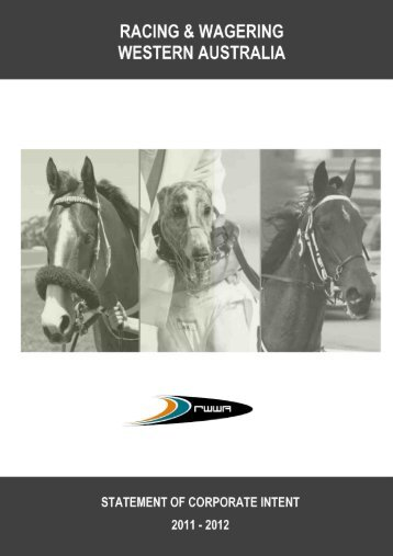 RACING & WAGERING WESTERN AUSTRALIA - Parliament of ...