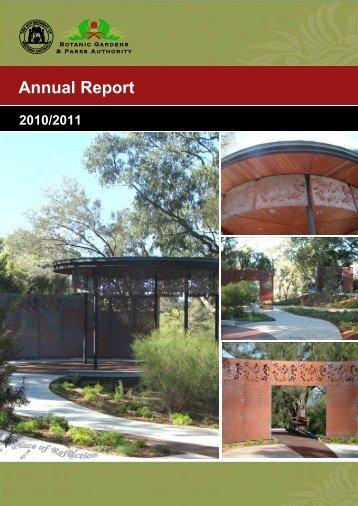 Botanic Gardens and Parks Authority - Parliament of Western Australia