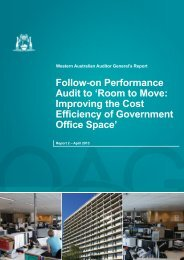 Follow-on Performance Audit to 'Room to Move: Improving the Cost ...