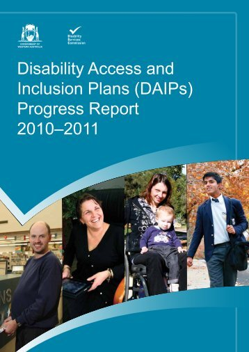 Disability Access and Inclusion Plans (DAIPs) - Parliament of ...