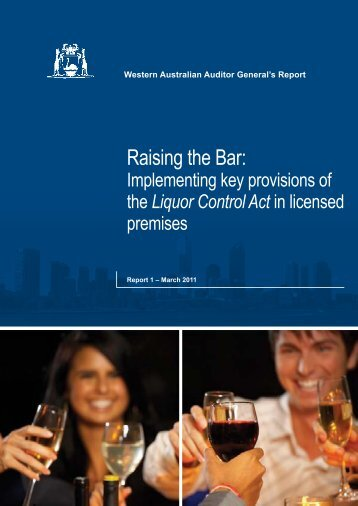 Raising the Bar: - Parliament of Western Australia