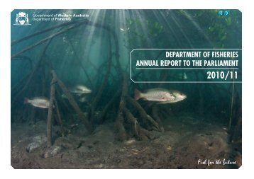 department of fisheries annual report to the parliament
