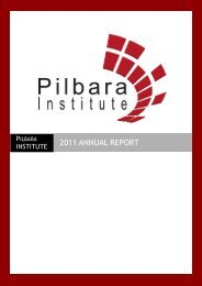 2011 ANNUAL REPORT - Parliament of Western Australia
