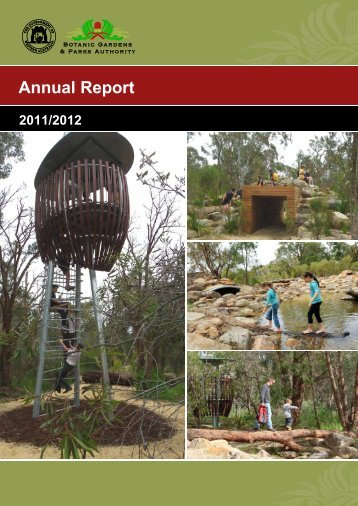 Botanic Gardens and Parks Authority Annual Report 2011-2012