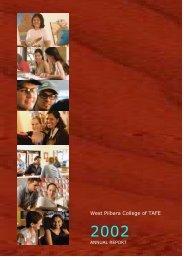 West Pilbara College of TAFE - Parliament of Western Australia