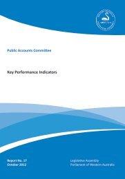 Key Performance Indicators - Parliament of Western Australia