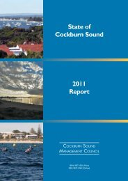 Cockburn Sound Management Council - Parliament of Western ...