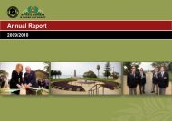 Annual Report 2009-2010 - Parliament of Western Australia
