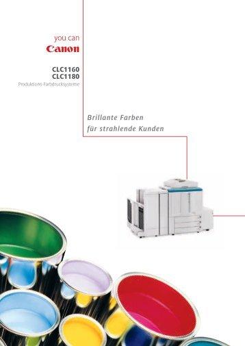 Canon CLC 1160 - FCC Computer GmbH