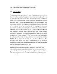 1.0 BUHERA NORTH CONSTITUENCY