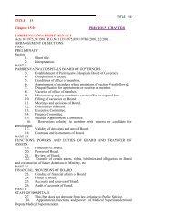 PARIRENYATWA HOSPITALS ACT Vol.15 No.07 - Parliament of ...