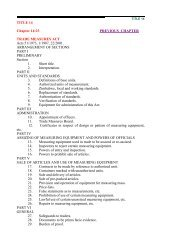 TRADE MEASURES ACT Vol.14 No.23